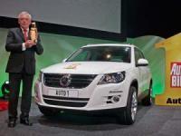 Volkswagen Tiguan е признат за офроудър на годината