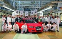 Второто поколение на Audi A3- вече 1000 екземпляра
