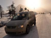 Caddy Maxi 4MOTION постави рекорд при трудни условия
