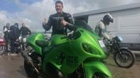 Нов световен рекорд за максимална скорост на мотоциклет на пясък