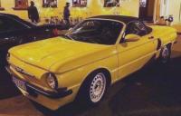 Кръстоска на ЗАЗ-966 и родстъра BMW Z4 от белоруски тунингари