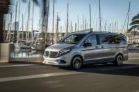 Официални снимки на елвана Mercedes EQV