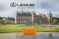 LEXUSпразнува своята 30-та годишнина на CHANTILLY ARTS & ELEGANCE RICHARD MILLE 2019