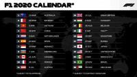 22 старта във Формула 1 през 2020 година