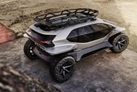 Всъдеходът на бъдещето – Audi AI:TRAIL quattro