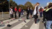 Ученици с открит урок по пътна безопасност и първа помощ в Европейския ден без загинали на пътя