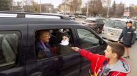 Деца отправиха послания за безопасно шофиране към водачите