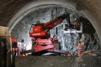 """Ще проверяват напредъка при изграждането на тунел """"Железница"""" на АМ """"Струма"""""""