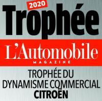 """CITROËN печели награда """"Търговска динамика"""" в конкурса на L'AUTOMOBILE"""