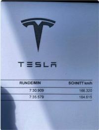 """Tesla Model S Plaid стана най-бързият сериен автомобил на """"зеления ад"""""""